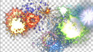 Free fireworks background loop for new year's /4th of july youtube.