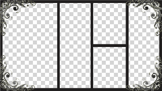 Photo frames collage png hd